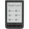 POCKETBOOK TOUCH LUX 3 PB626 6'' E INK CARTA HD EREADER WI-FI GREY