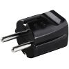 HAMA 47638 PLUG WITH EARTH CONTACT BLACK