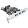 DELOCK 89301 3 X EXTERNAL + 1 X INTERNAL USB 3.0 PCI EXPRESS CARD