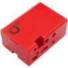 MODMYPI MMP-0648 JUSTBOOM DAC HAT CASE - RED