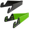 LOGILINK AA0039G FOLDABLE SMARTPHONE AND TABLET STAND BLACK/GREEN 2PCS
