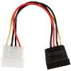 VALUELINE VLCP73500V0.15 POWER ADAPTER CABLE SATA 15-PIN FEMALE - MOLEX MALE 0.15M