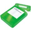 LOGILINK UA0133G HARD COVER PROTECTION BOX FOR 1X 3.5'' HDD GREEN