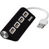 HAMA 12177 USB 2.0 HUB 1:4 BUS POWERED BLACK