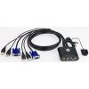 ATEN CS22U 2-PORT USB CABLE KVM SWITCH
