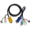 ATEN 2L-5303P PS/2 KVM CABLE 3M