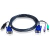 ATEN 2L-5502UP USB KVM CABLE 1.8M