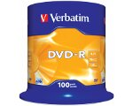 VERBATIM DVD-R 16X 4.7GB CAKEBOX 100PCS