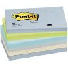 3M POST-IT 655 MINERAL RAINBOW NOTES 76 X 127 MM 6 PACK