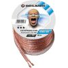 OEHLBACH D1C107 SPEAKER CABLE 2X 1.5MM² 30M TRANSPARENT