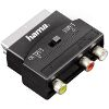 HAMA 42353 VIDEO ADAPTER 3 RCA FEMALE JACKS (1XVIDEO/AUDIO L&R) - SCART MALE PLUG