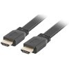 LANBERG FLAT CABLE HDMI V2.0 0.5M BLACK
