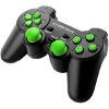 ESPERANZA EGG106G CORSAIR VIBRATION GAMEPAD FOR PC / PS2 / PS3 BLACK/GREEN